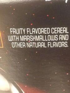 Jaaa. Marshmallows er så også en naturlig smag, eller?